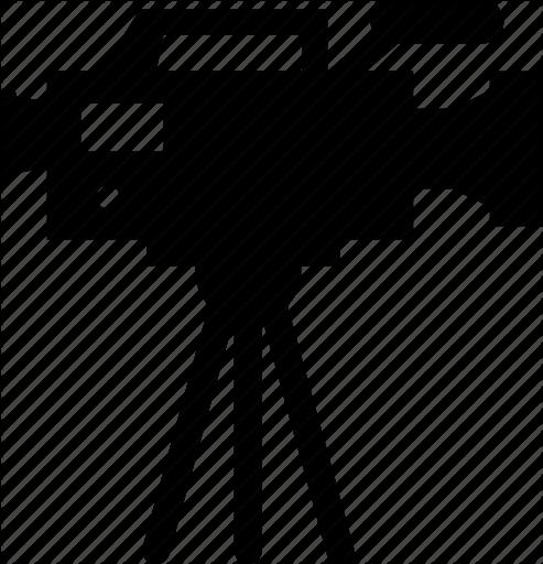 Video camera Film Icon.