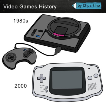 Video Games Clipart: evolution.