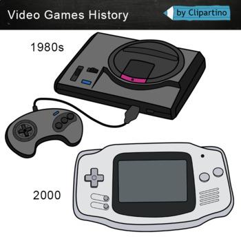 Video Games Clipart: evolution.
