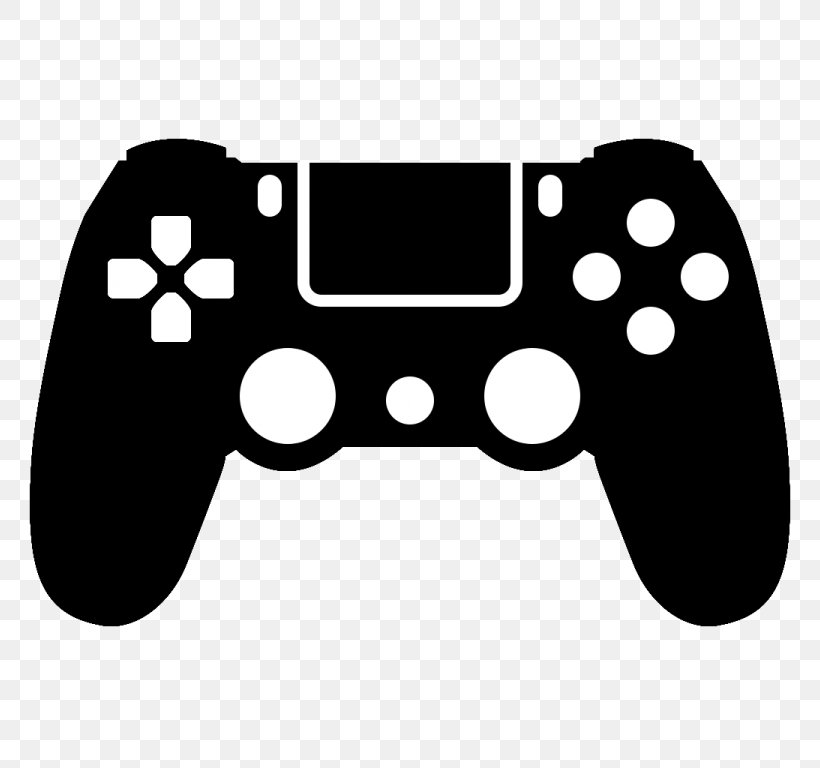 PlayStation 4 Clip Art Game Controllers Video Games, PNG.