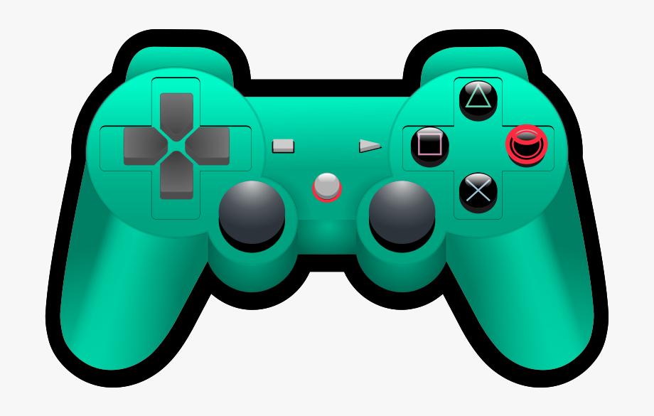 Video Game Controller Clipart , Transparent Cartoon, Free.