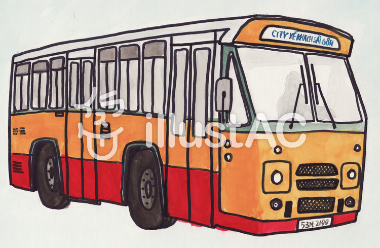 Vietnamese bus.