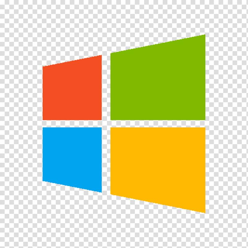 Microsoft Windows Logo, Microsoft Windows logo transparent.