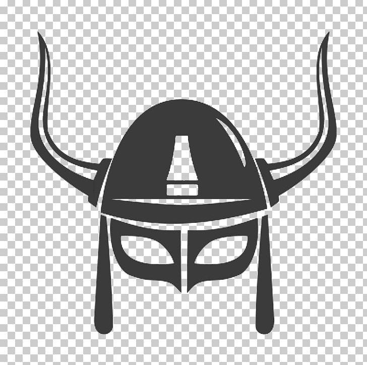 Viking Helmet Knight PNG, Clipart, Black And White, Clip Art.