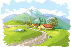 Village cliparts.