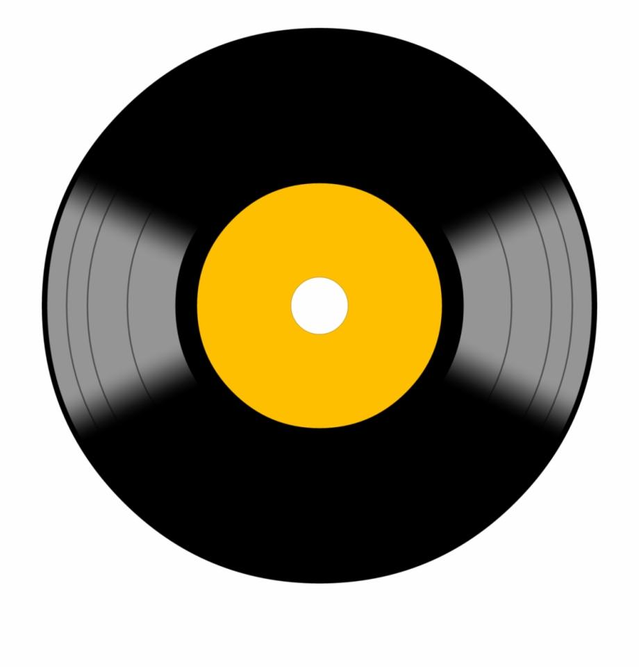 Lp Vinyl Symbol Icon Vinyl Record Clipart Png.