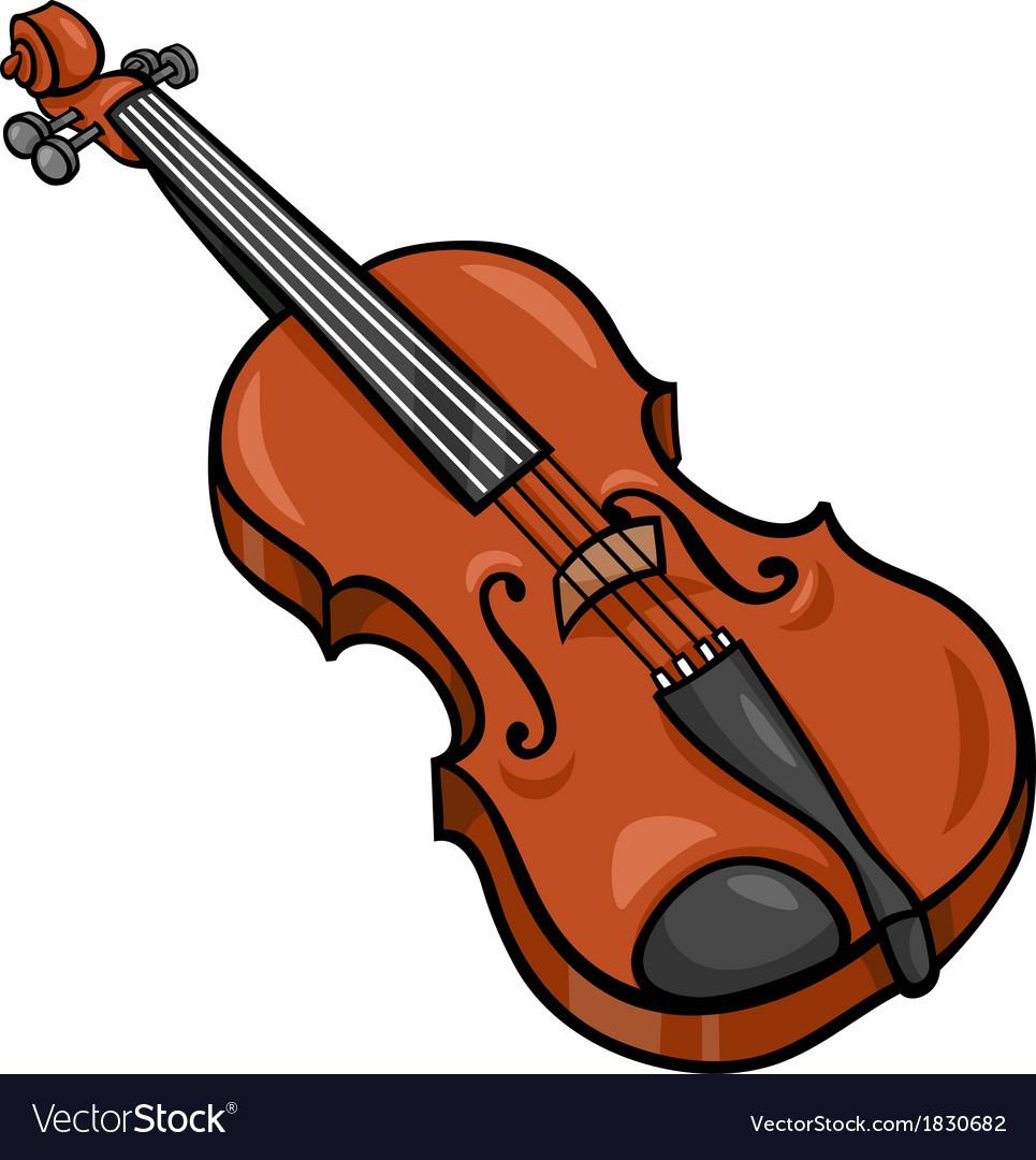 Violin cartoon clip art.