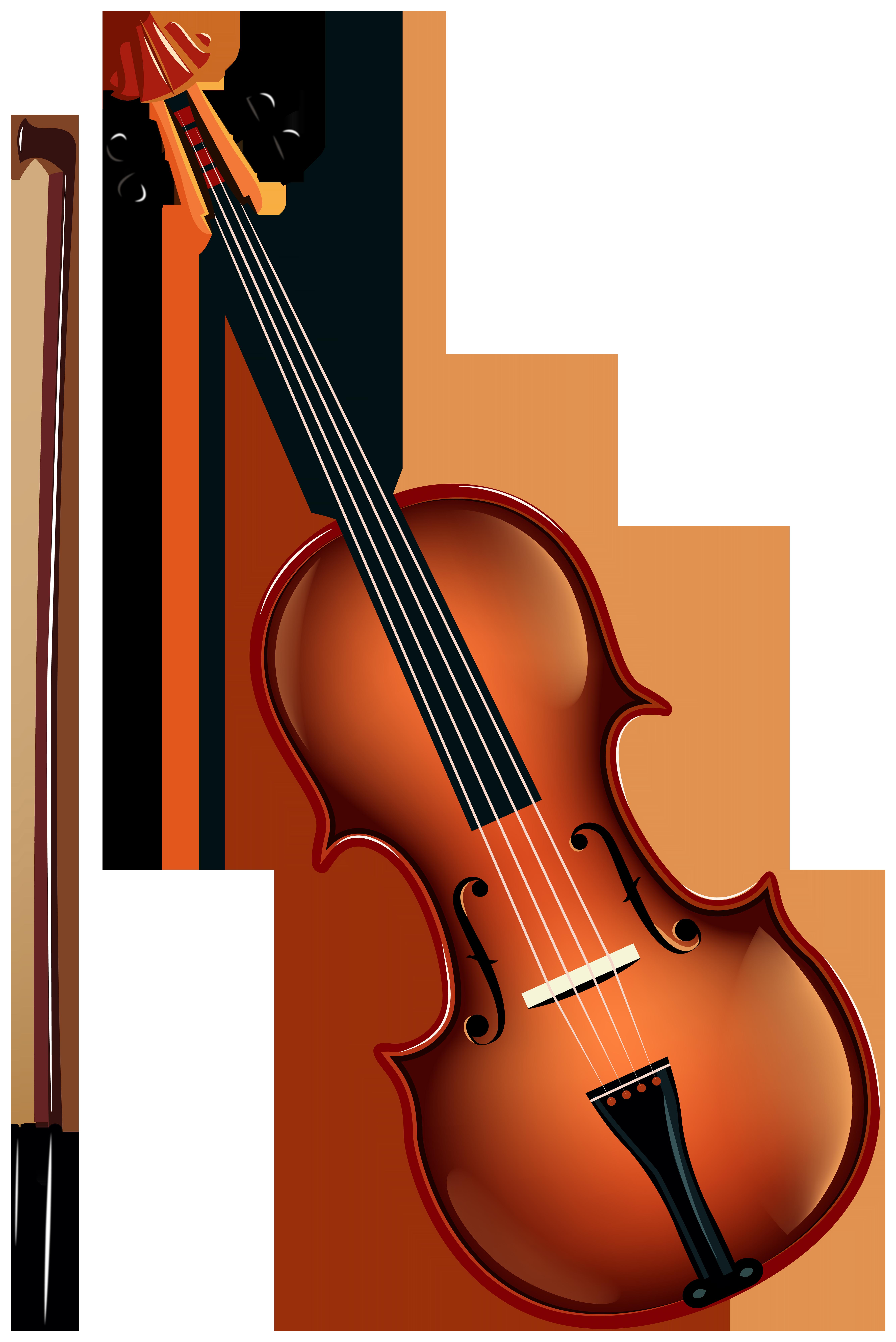 Violin PNG Clipart.
