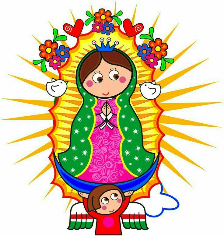 Our Lady Of Guadalupe Clipart at GetDrawings.com.