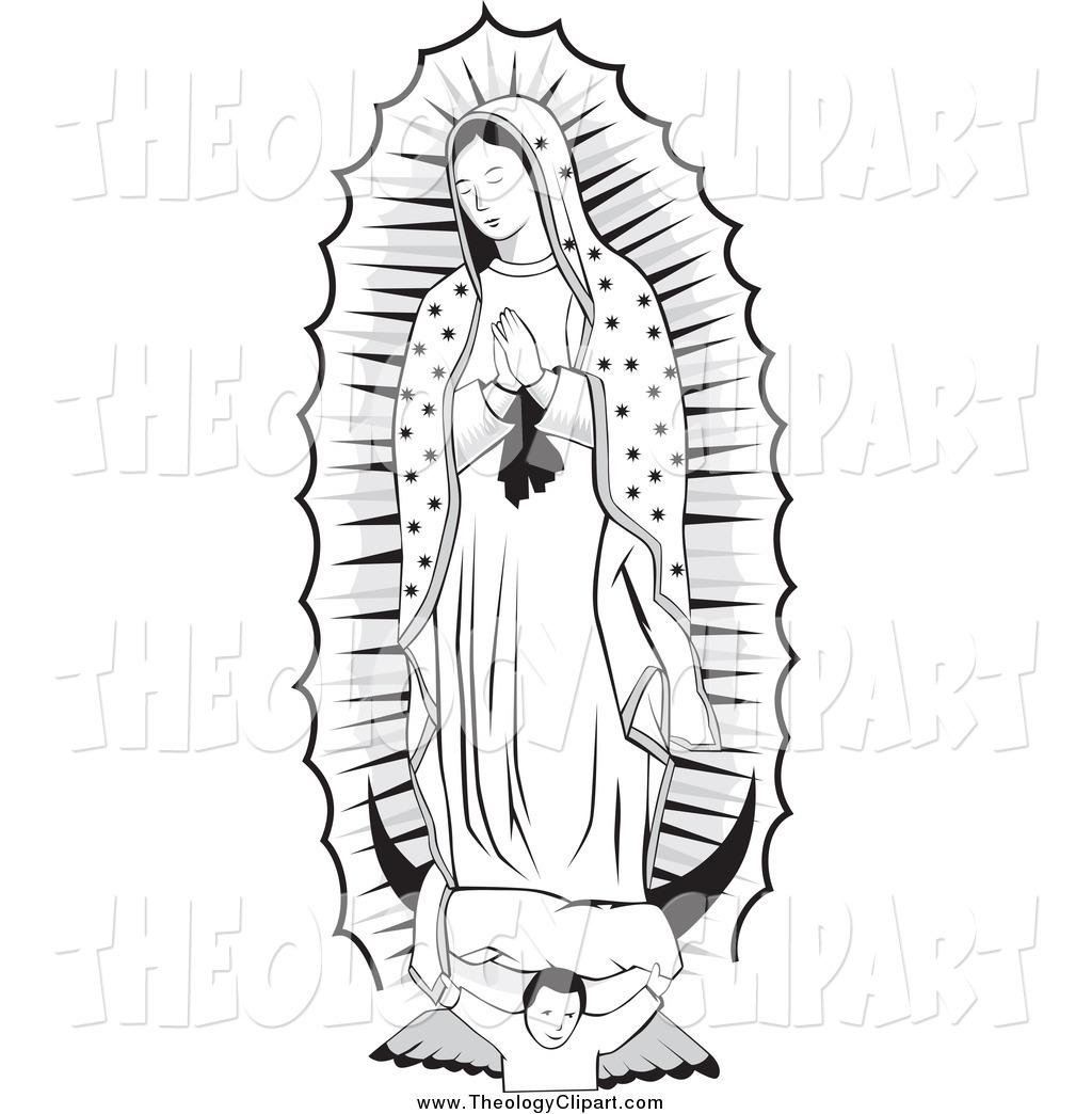 Virgen de guadalupe clipart 3 » Clipart Station.