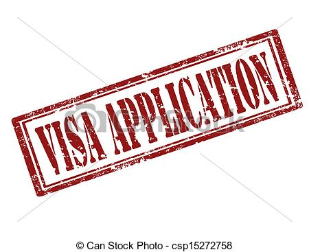 Visa application.