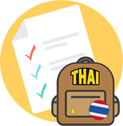 Thailand Visa Application Form.