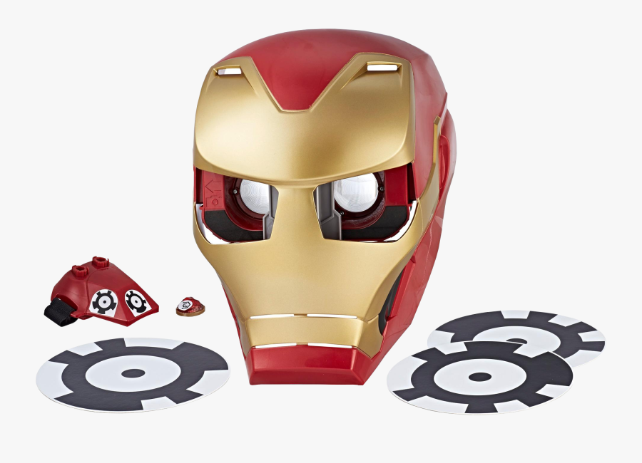 Transparent Iron Man Mask Png.