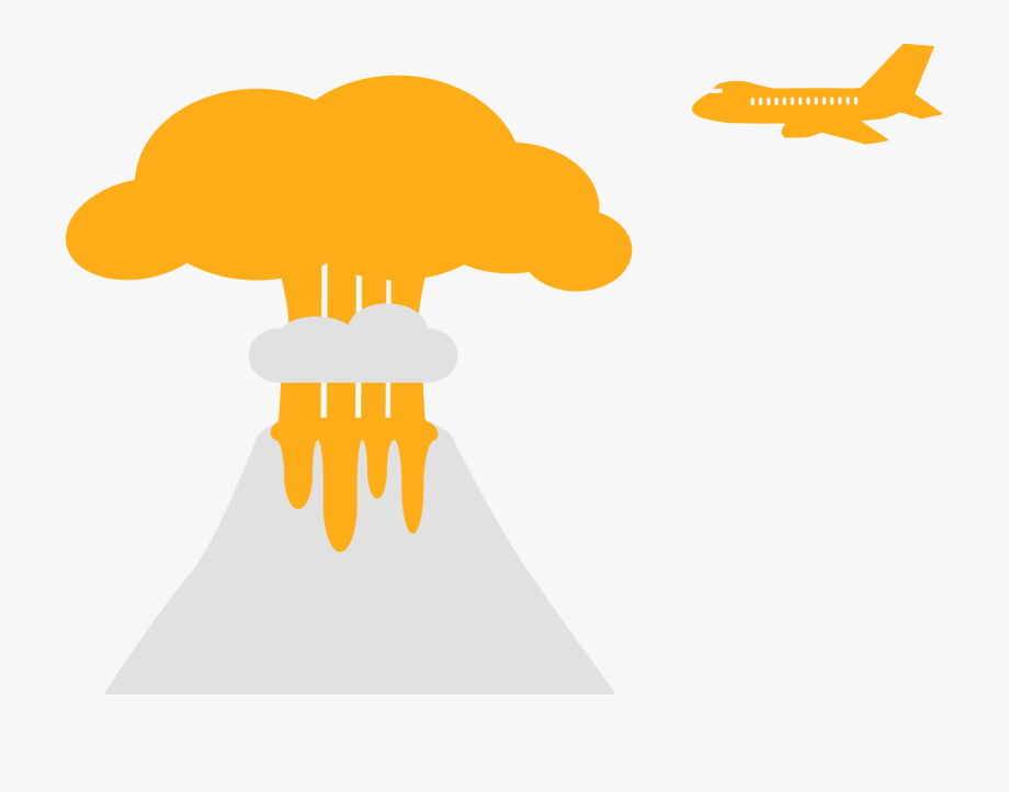 Clipart Cloud Volcano.
