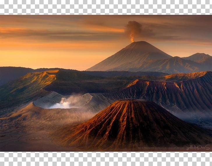 Mount Bromo Semeru Tengger massif Yadnya Kasada Tavurvur.