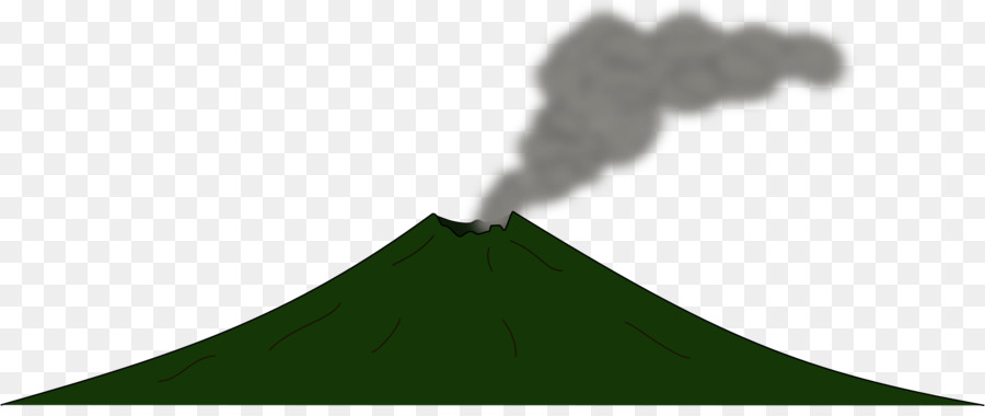 Volcano Cartoon clipart.