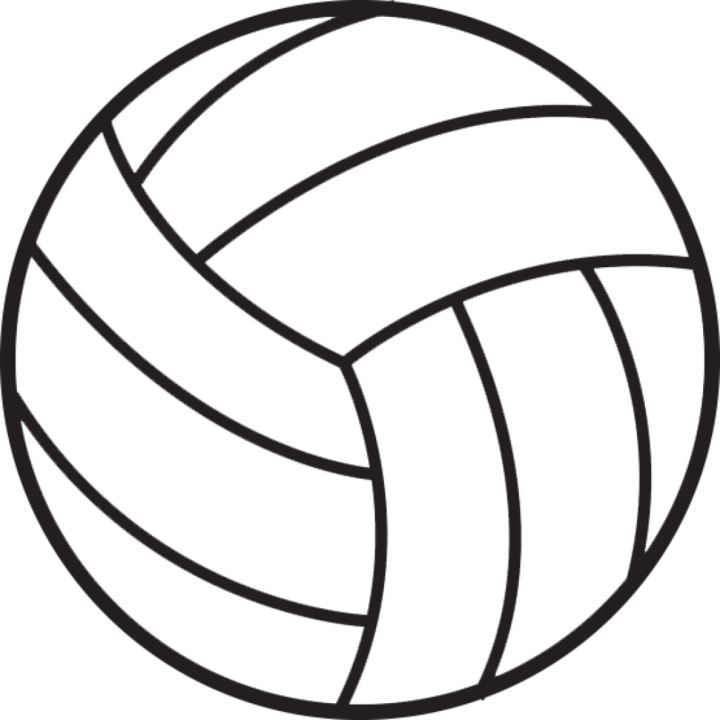 Clipart volleyball shape, Clipart volleyball shape.