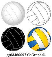 Volleyball Ball Clip Art.
