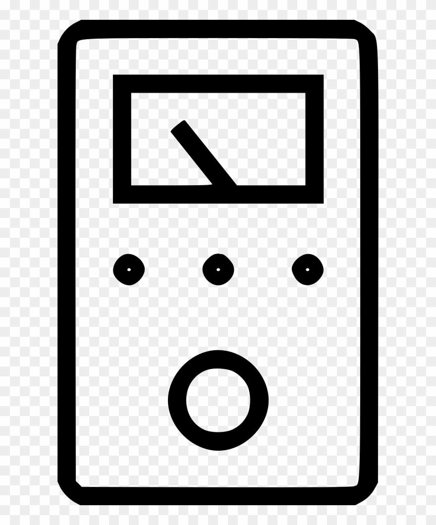 Metal Detector Multimeter Voltmeter Svg Png Icon Free.