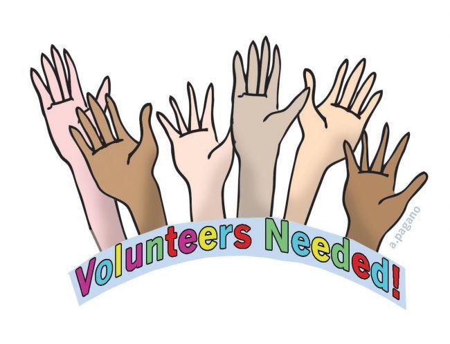 Volunteers Needed clip art..