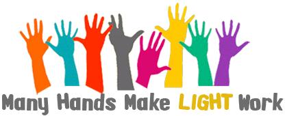 many hands make light work clip art.