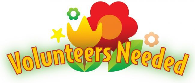 Volunteers Needed clip art from PTO Today..