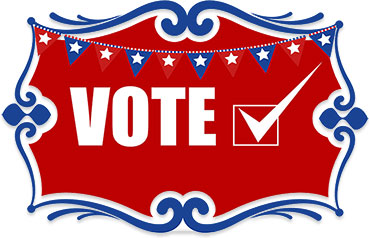 Vote Sign Clipart.
