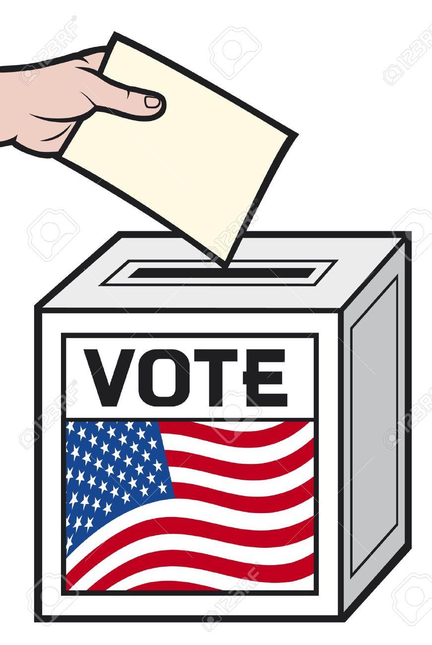Free Clipart Voting Ballot.