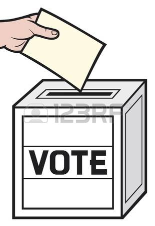 1615 Voting free clipart.