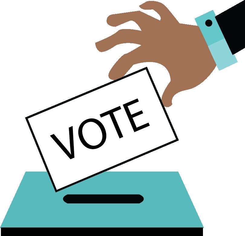 President clipart voter ballot, President voter ballot.