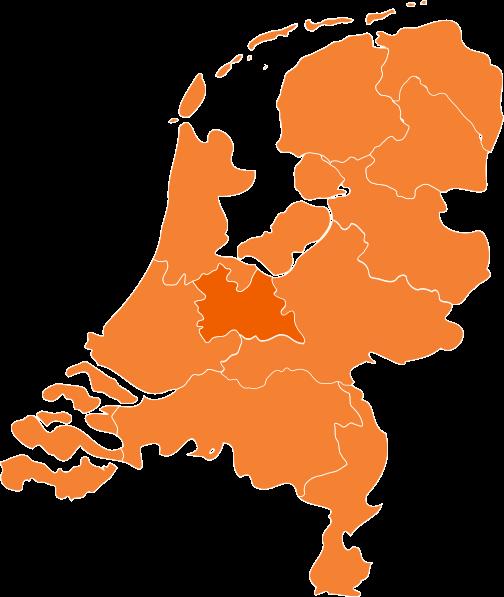 Kaart Nederland Oranje Clip Art at Clker.com.
