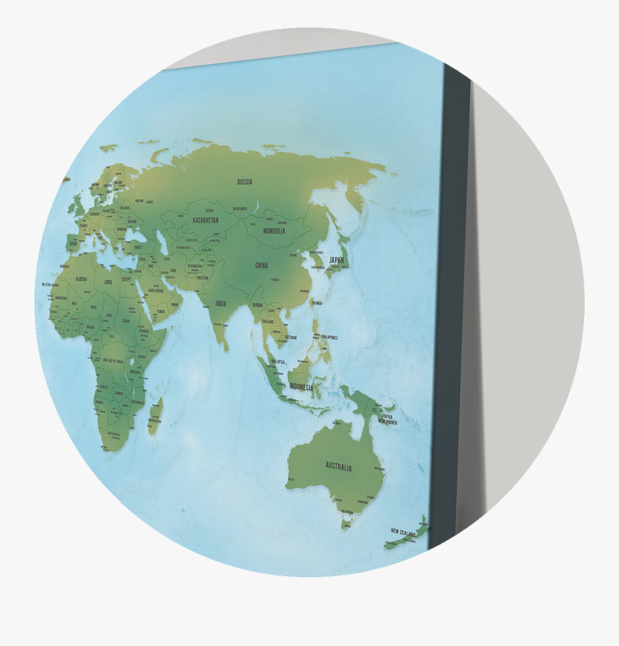 Transparent World Map Icon Png.