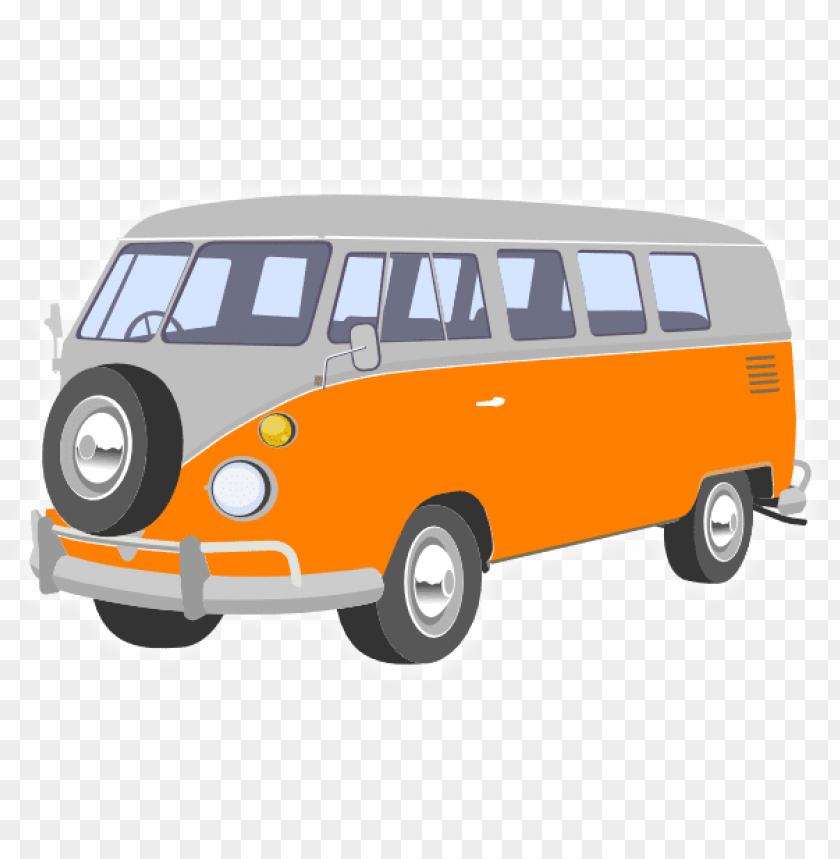vw bus clipart.