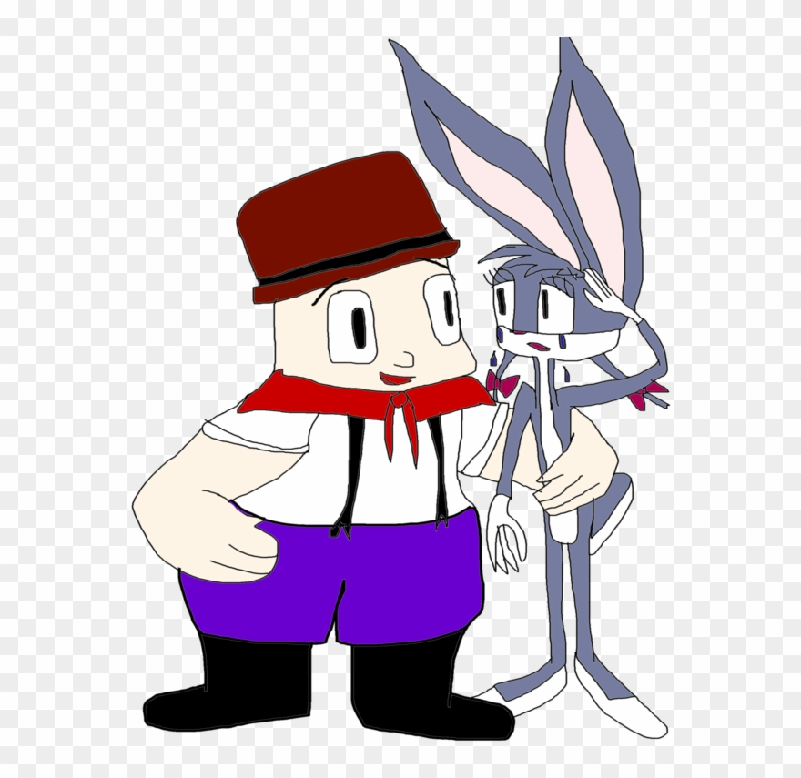 Elmer Fudd And Katie Bunny The Wacky Wabbit By 10katieturner.