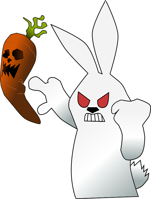 Mad Wabbit Clipart Icon PNG.