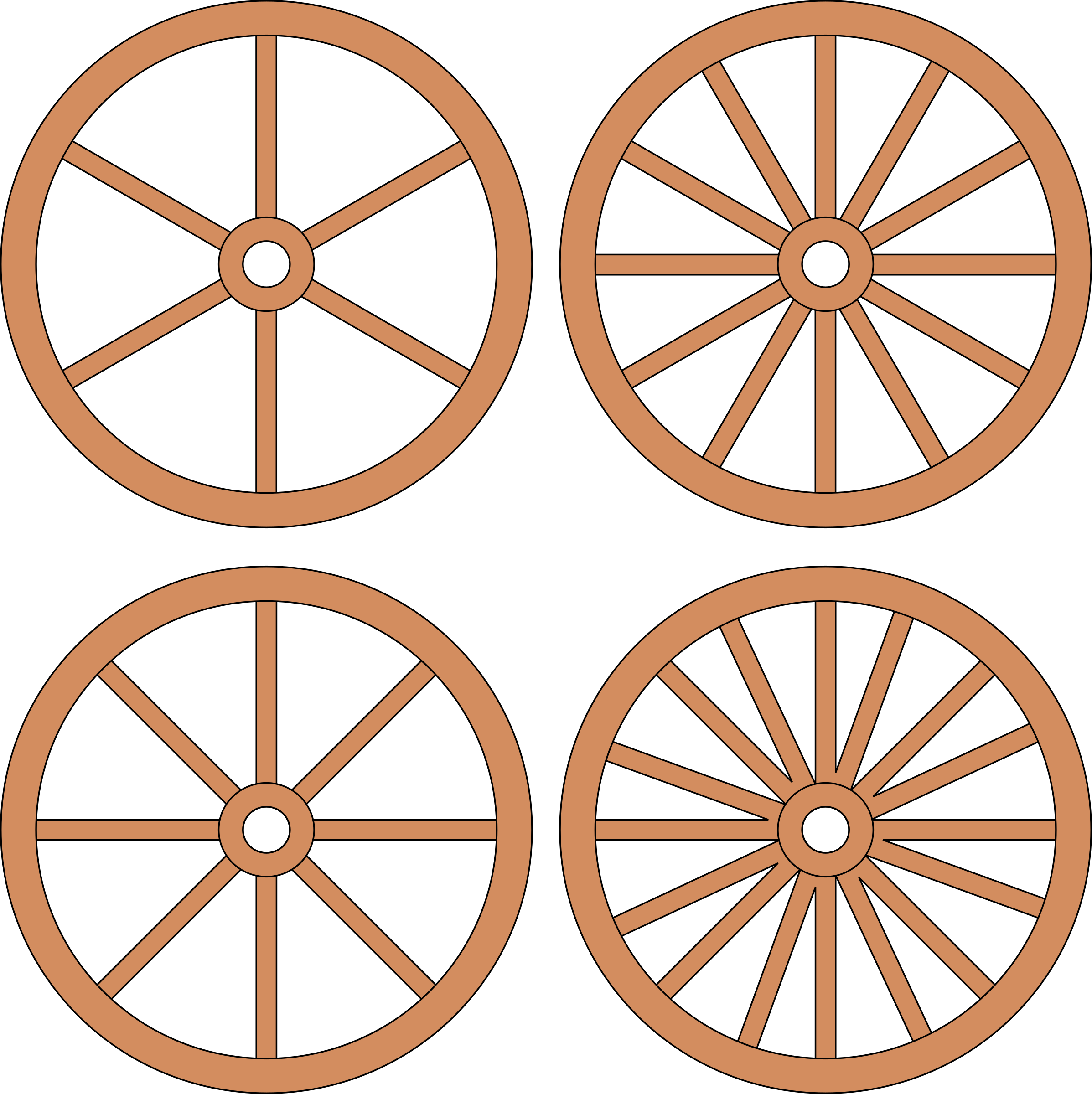 Wheel clipart wagon wheel, Wheel wagon wheel Transparent.