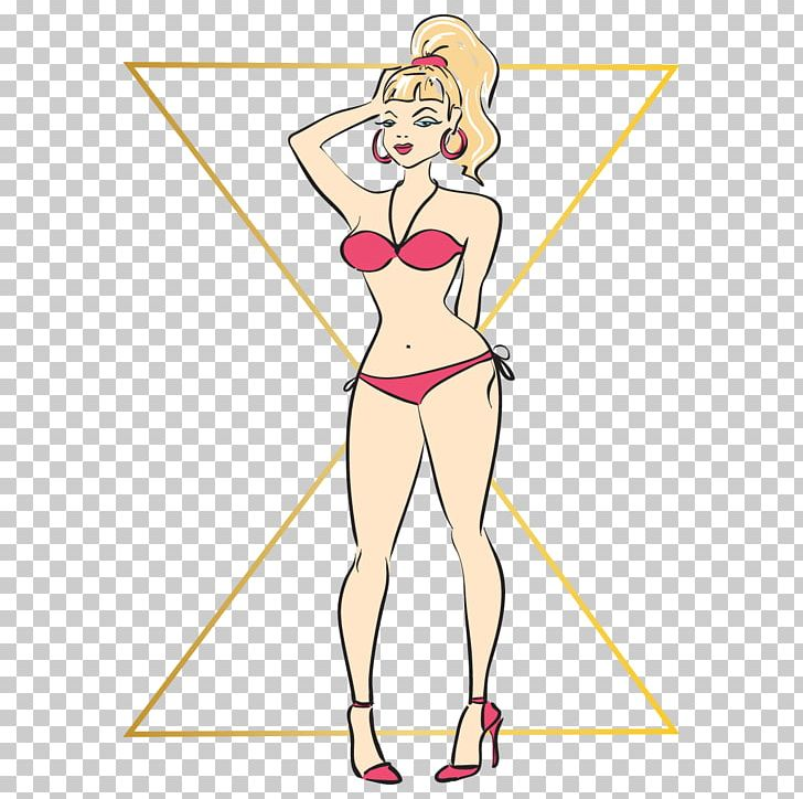 Human Body Female Body Shape Hourglass Figure Waist PNG.