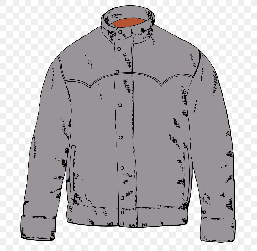 Jacket Coat Clothing Clip Art, PNG, 734x800px, Jacket, Black.
