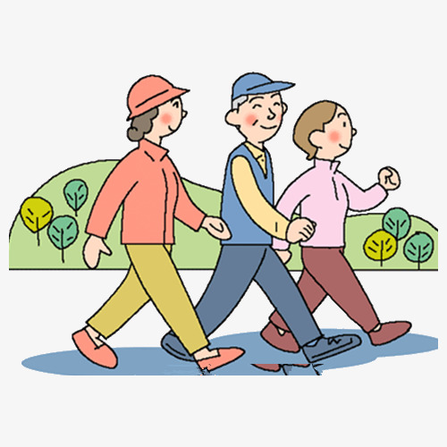 Take a walk clipart 3 » Clipart Station.