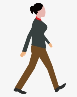 Free Walking Clip Art with No Background.