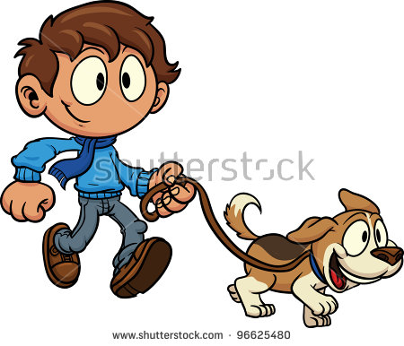 Walking Dog Stock Vectors, Images & Vector Art.