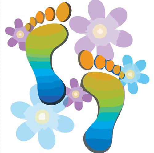 Best Walking Feet Clip Art #21532.