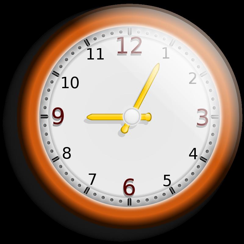 Free Clipart: Wall clock.