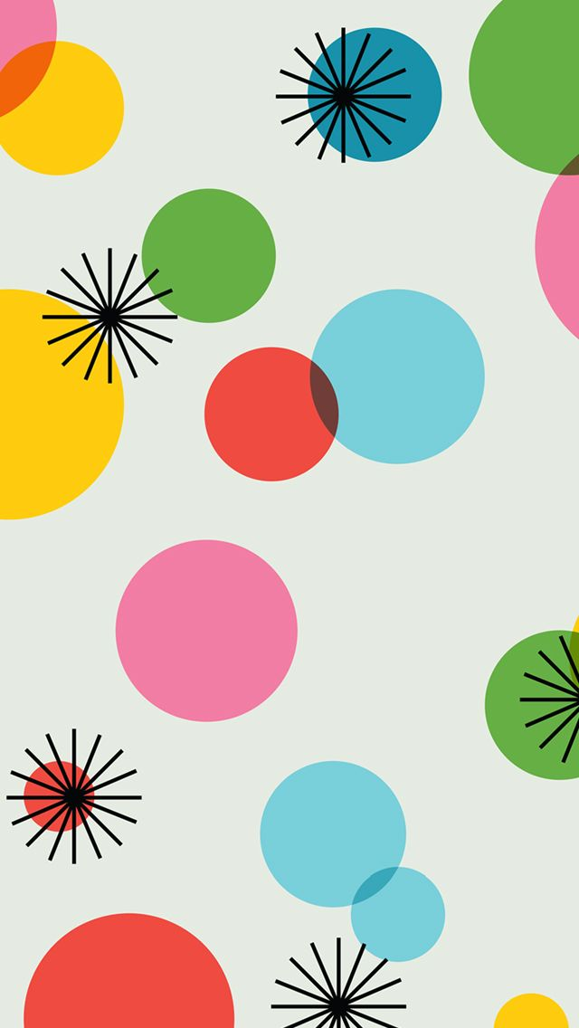 Wallpaper Polkadot Rainbow Clipart.