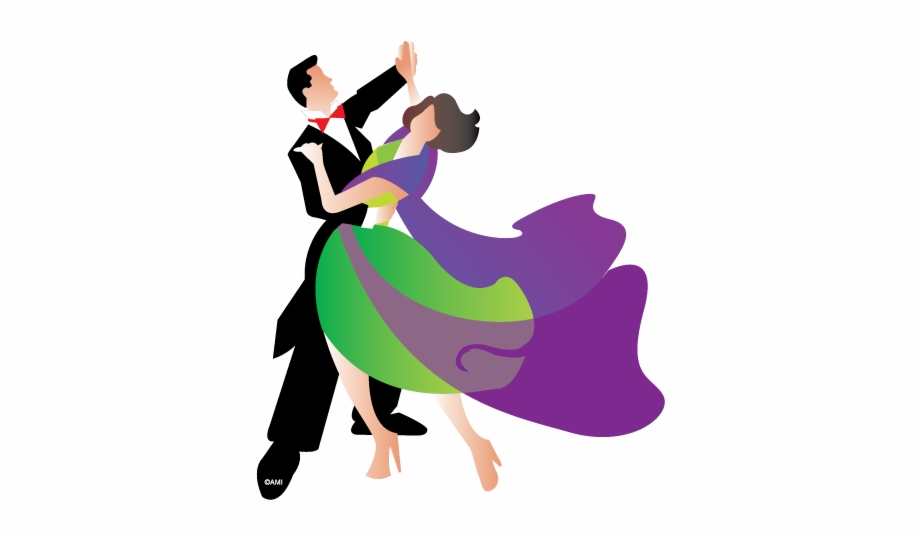 Waltz Formal Dance Clip Art.