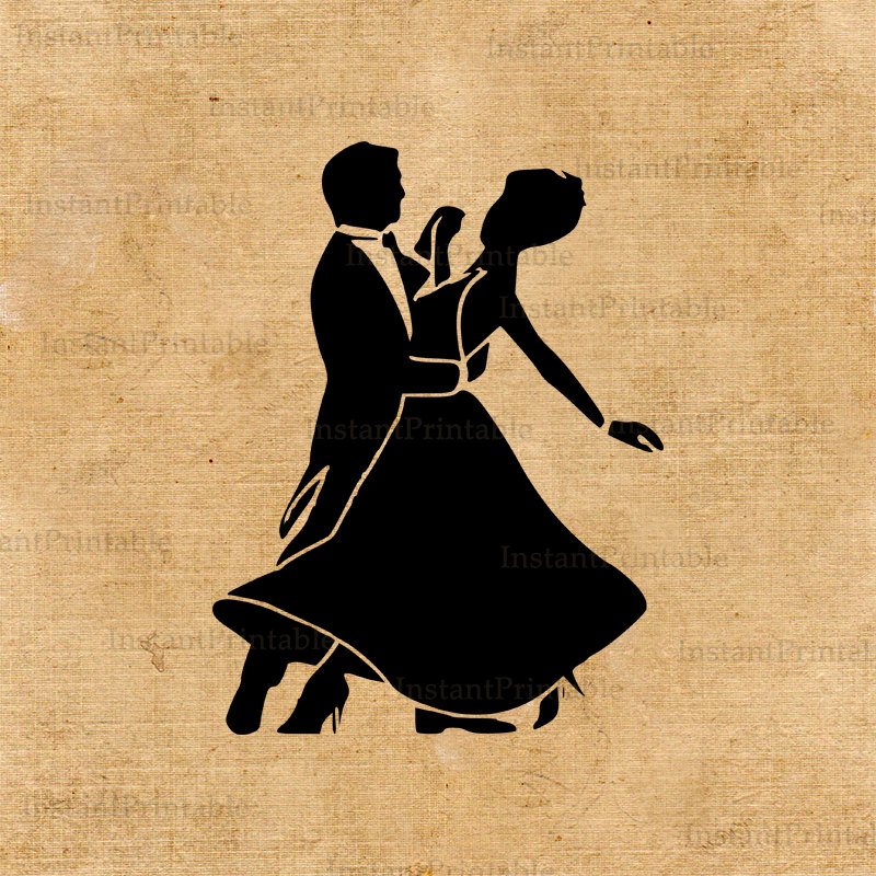 Popular items for dancing couple on Etsy.