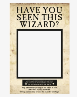 Free Wanted Poster Clip Art with No Background.