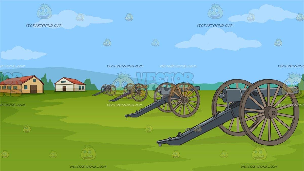 Revolutionary War Reenactment Background.