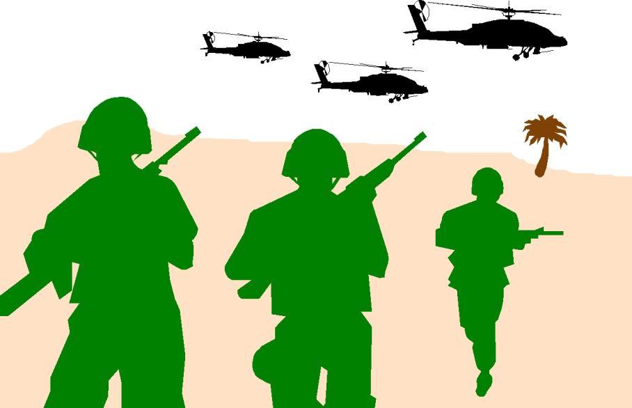 War background clipart.
