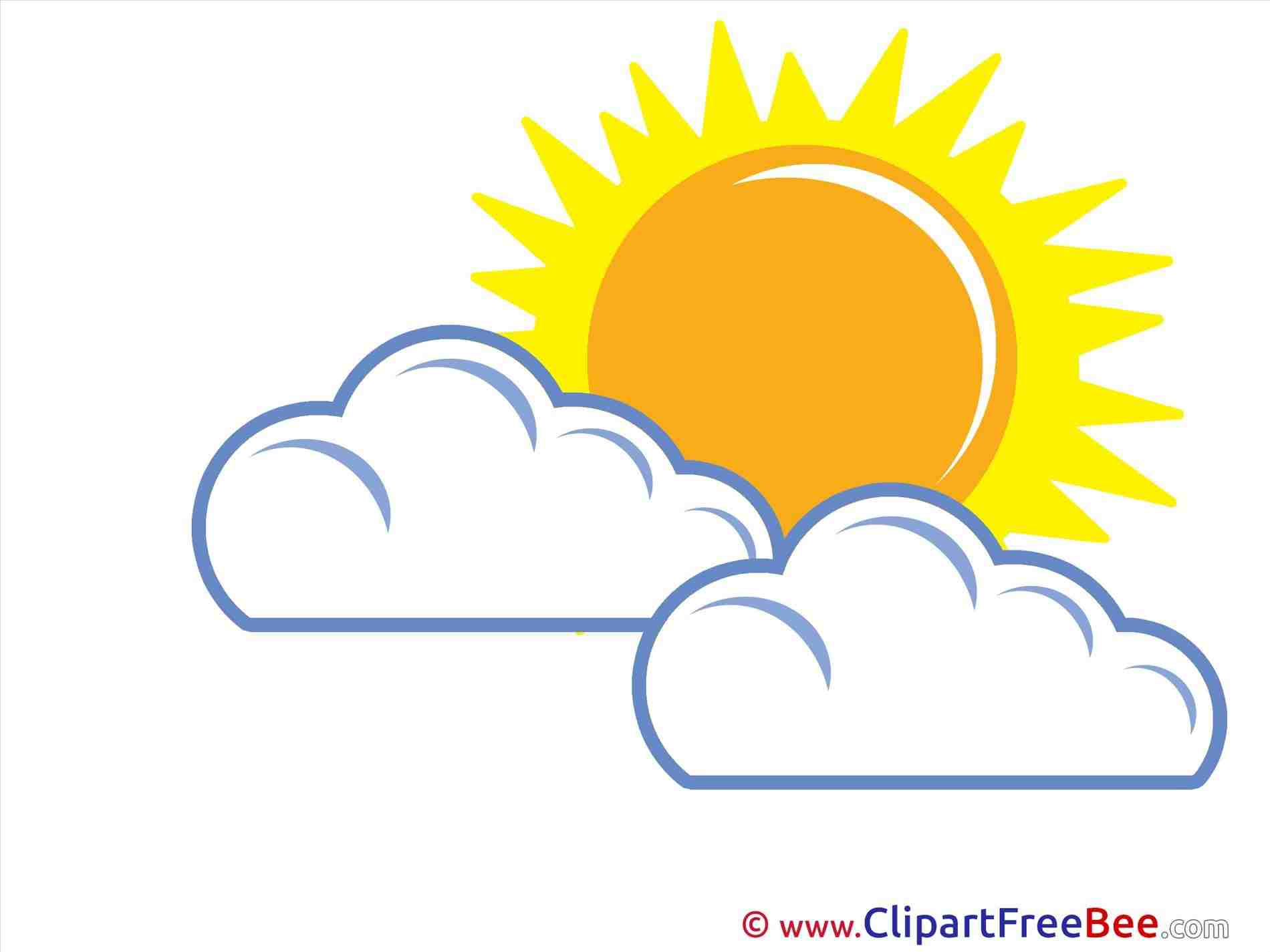 Warm Warm Weather Clipart weather sun clouds » Clipart Station.
